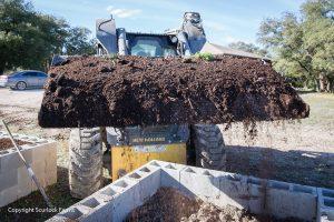 Raised bed garden, Scurlock Farms, Georgetown, TX (Austin)