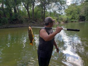 Fishing at Scurlock Farms